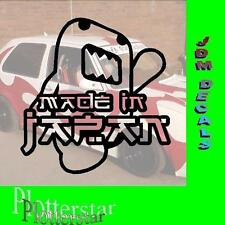 Domo made in Japan nr4  JDM Sticker aufkleber oem Power fun like Shocker