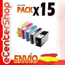 15 Cartuchos de Tinta NON-OEM HP 364XL - Photosmart Premium C309 g