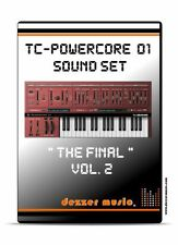"""tc electronic Powercore 01 """"The final"""" Vol.2 - 100 Sound Patches / Sound Presets"""