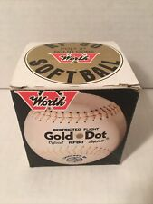 Worth Gold Dot Official Rf80 Softball Poly X Solid Core New In Box With Wrapper