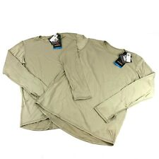 2 POLARTEC Power Dry Shirts, MEDIUM REGULAR, Military ECWCS Level 1 Base Layer