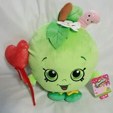 "NWT Shopkins Apple Blossom Plush 12"" Just Play Valentine Red Heart Balloon"