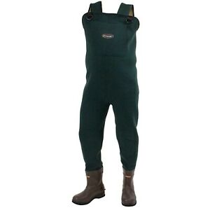 Frogg Toggs Amphib 3.5mm Neoprene Bootfoot Cleated Waders MENS Size 7