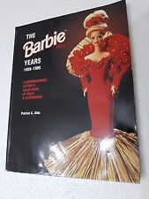 LIBRO THE BARBIE YEARS 1959-1995 - PATRICK C. OLDS -