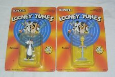 LOONEY TUNES lot 2 figurines ERTL TITI et GROSMINET , Tweety & Sylvester 1989
