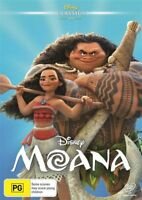 Moana (DVD, 2017) NEW