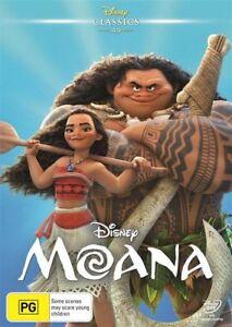 Moana DVD, NEW SEALED AUSTRALIAN RELEASE REGION 4