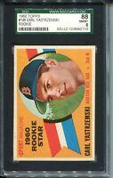 1960 Topps Baseball #148 Carl Yastrzemski Rookie Card RC Graded SGC Nm Mint 8 88