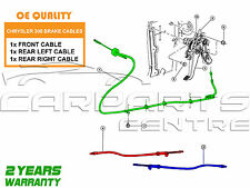 FOR CHRYSLER 300C 3.0 DT V6 05-08 3x FRONT & REAR LEFT RIGHT BRAKE CABLE CABLES