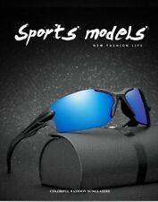Men Rimless Polarized Sunglasses Uv400 Outdoor Sports Driving Glasses Eyewear Us
