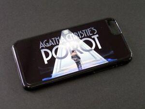 Pour iphone 6 6s téléphone portable coque rigide Hercule Poirot David Suchet