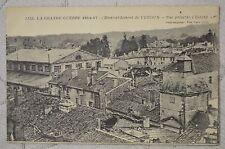 """CPA """" LA GRANDE GUERRE - Bombardement de VERDUN - Vue prise de l'Evêché"""