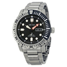 Seiko Divers Automatic Black Dial Stainless Steel Mens Watch SRP587