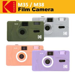Kodak Vintage Retro M35 M38 35mm Non-Disposable 135 Film Camera with Flash