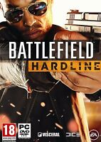 Battlefield Hardline (PC-DVD) BRAND NEW SEALED - 1st Class Delivery