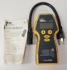 Ideal 61 155 Suretest Circuit Analyzer True Rms Gfci Afci With Arc Fault With Case