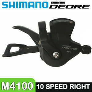 Shimano Deore SL M4100 Right Side Shift Lever Shifter 10 Speed MTB Bike Bicycle