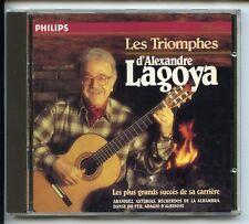 CD ALEXANDRE LAGOYA SES PLUS GRANDS SUCCÈS BACH VIVALDI DEBUSSY RODRIGO DE FALLA