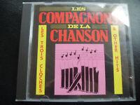LES  COMPAGNONS  DE  LA  CHANSON  - Les Trois Cloches, CD  1989  ,  POP, CHANSON