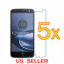 5x Clear LCD Screen Protector Guard Cover For Motorola Moto Z2 Force / Z2 Play