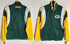 STARTER GREEN BAY PACKERS FULL-ZIP CONTENDER TRACK JACKET GREEN SMALL