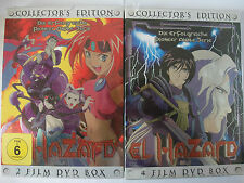 El Hazard - Vol. 1 - 6 - Manga Anime - andere Dimension, Monster, Dunkelheit