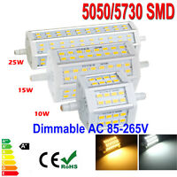 Dimmable R7S Bombilla 10W 15W 5050 5730 SMD LED Flood Lights Lámpara 78mm 118mm