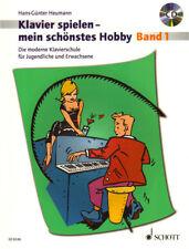 Hans-Günter Heumann Klavierspielen mein schönstes Hobby Band 1 Noten mit CD