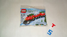 New Sealed PolyBag Christmas Stocking Stuffer LEGO 30543 Train Free Shipping