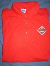 Tabasco Hot Sauce mint never worn men's size = Medium size Red golf shirt