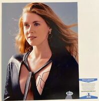 Actress Amy Adams Autographed 11x14 Photo Signed Justice League With Beckett COA