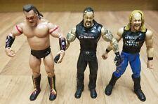 Paquete De Figura WWE incluso Tatanka, el enterrador & Chris Jericho lucha libre