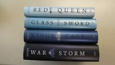 Red Queen Complete 4 Book Series Victoria Aveyard War Storm B&N King's Cage