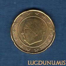 Belgique 2002 20 centimes d'euro SUP FDC Pièce neuve de rouleau - Belgium