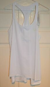 Lucas Hugh White Performance Classic Tank Top Size: M