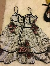 Hot Topic Exclusive Dress Size Large Worn ONCE for Senior Photos STAIN FREE