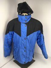EUC Obermeyer Thermolite Thinsulate Periwinkle ski Snow Jacket Cute 14 Winter