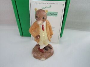 BESWICK RATTY WIND IN THE WILLOWS WIW4  LIMITED EDITION OF 2,000 CERT & BOX NEW