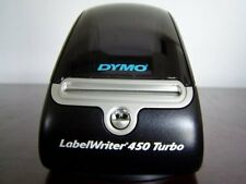 #S6C Dymo 450 Turbo Label Thermal Printer Tested Working W/Prints