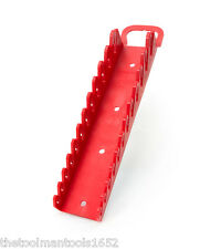 TEKTON ORG21212 - 12-Tool Store and Go Stubby Wrench Keeper (Red)