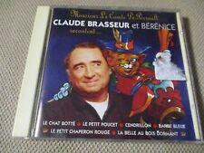 "CD ""CLAUDE BRASSEUR ET BERENICE RACONTENT LES CONTES DE PERRAULT"" Disney"