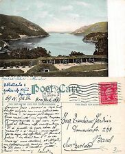 USA New York - Battery West Point SENT TO SWITZERLAND YEAR 1908 (A-L 577)