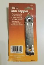 VINTAGE EKCO METAL CAN TAPPER BOTTLE OPENER CHURCH KEY NEW OLD STOCK MADE IN USA