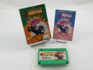 GEKITOTSU YONKU BATTLE FAMICOM (FC) NTSC-JPN (COMPLET - GOOD CONDITION OVERALL)