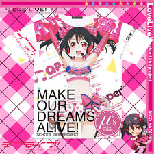 LoveLive! Nico Yazawa  Anime Unisex Tee Leisure Full Color Casual Tops T-Shirt