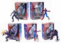 Kaiyodo Marvel Ultimate Spider-Man Action Vignette Figure 2006 ~ New spiderman