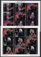 MONTSERRAT:1999 Jerry Garcia  sheetlets(4)+MS(2) SG1117-28x3+MS1129 MNH