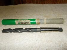 "Vintage Percision Twist Drill Co., size 13/16"" #3 Taper Shank Drill Bit"