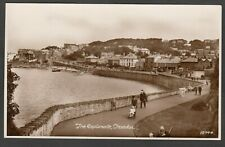Postcard Clevedon near Bristol Somerset view of The Esplanade posted 1934 RP