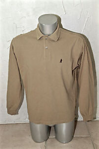 polo manches longues camel homme MARLBORO CLASSICS taille small  COMME NEUF